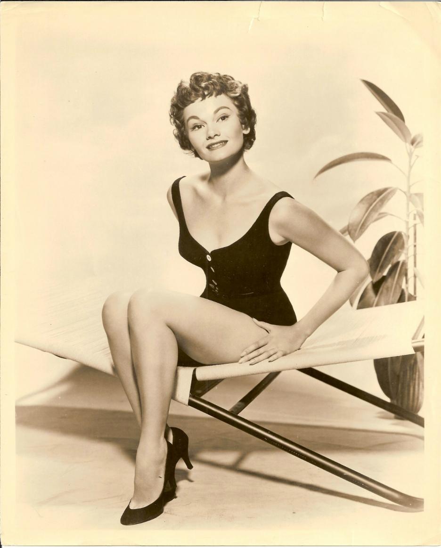 Gloria Talbott in a bikini