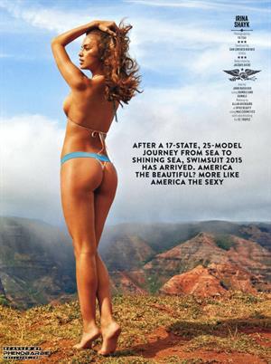 Irina Shayk Sports Illustrated 2015