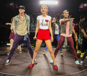 Taylor Swift  Red  Tour - Concert at the Staples Center in Los Angeles - August 19, 2013