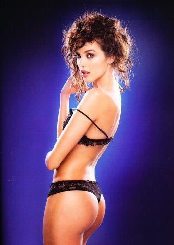 Veronica Velasquez in lingerie - ass