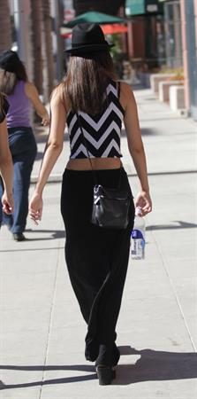 Victoria Justice in Beverly Hills 9/16/13