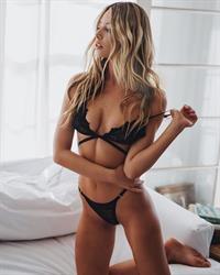 Celeste Bright in lingerie