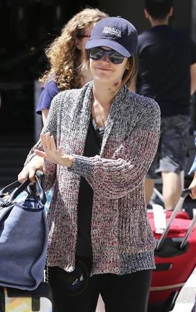 Rachel Bilson Arriving at LAX (July 16, 2013)