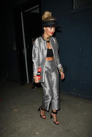 Rita Ora - Night out in London (11.07.2013)