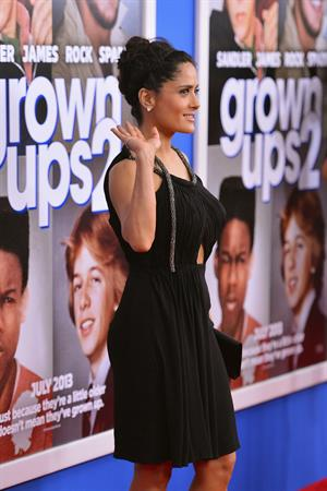 Salma Hayek 110 Premiere 'Grown Ups 2' in New York 10.07.13