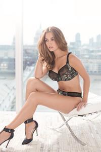 Bailey Nortje in lingerie