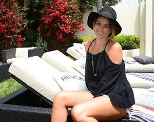 Serinda Swan Revolve Clothing Beach House Launch in Malibu, July 6, 2013