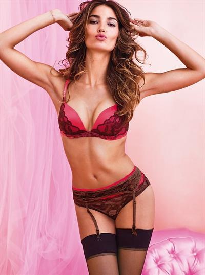 Lily Aldridge in lingerie