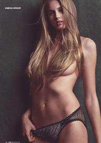 Vanessa Hessler in lingerie