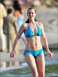 Kirsty Gallacher in a bikini