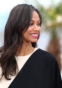 Zoe Saldana - 66th Cannes Film Festival 5/20/13