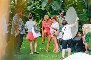 Paris Hilton At a photoshoot in Honolulu, Hawaii (June 1, 2013)
