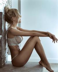 Elena Belle in lingerie