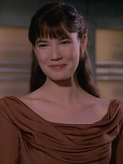 Jaime Hubbard played Salia in an episode of Star Trek the Next Generation - The Dauphin.  Wil Wheaton (Wesley Crusher) later recalled,  I used to get a lot of mileage out of this joke I'd tell at conventions. The first girl that Wesley fell in love with turned out to be a shape-shifter who turned into a hideous monster, y'know after he had exposed his soul to her. Which happened a lot to me in my personal life. And I was glad Star Trek was able to capture that parallel.