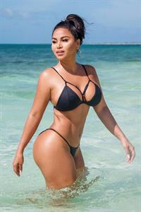 Dolly Castro in a bikini