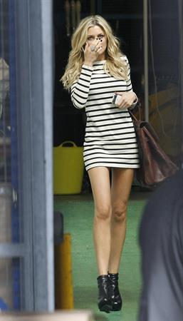 Abigail Clancy ITV studios London Aug 24, 2010