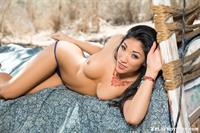 Playboy Cybergirl - Aja Marie Nude Photos & Videos at Playboy Plus! (old bed outside)