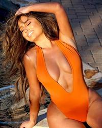 Dessie Mitcheson in a bikini