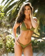 Whitney Johns in a bikini