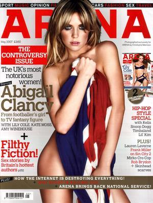 Abigail Clancy Arena mag UK May 2007