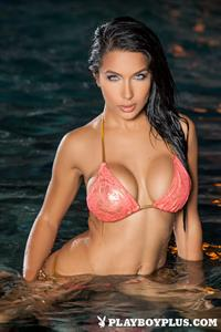 Playboy Cybergirl - Nasia Jansen Nude Photos & Videos at Playboy Plus! (by the pool)