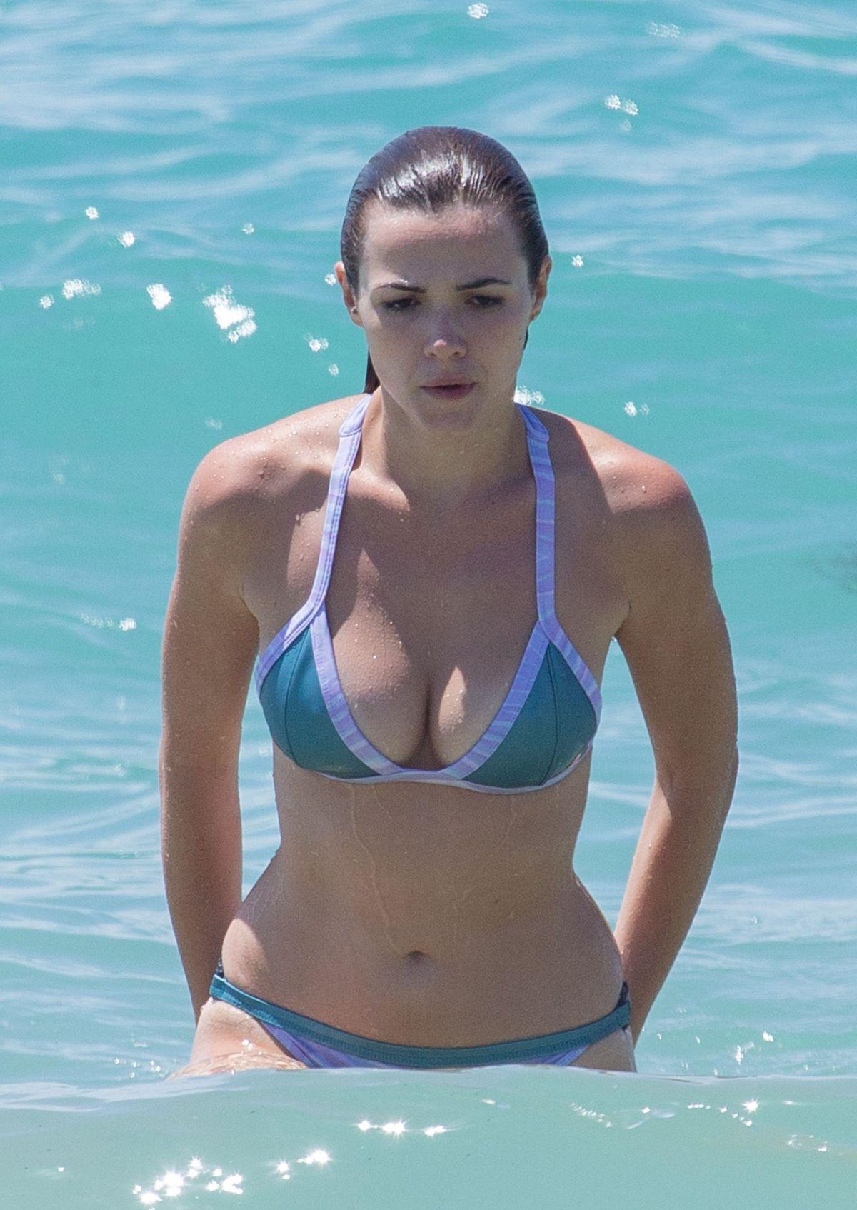 Demi Harman in a bikini