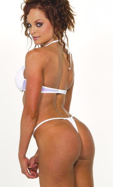 Christy Hemme in a bikini - ass