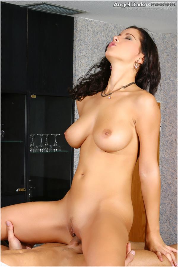 Angel Dark - pussy and nipples