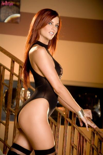 Jayden Cole in lingerie