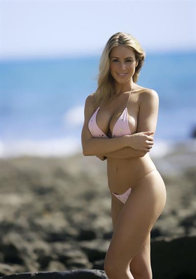 Carin Ashley in a bikini