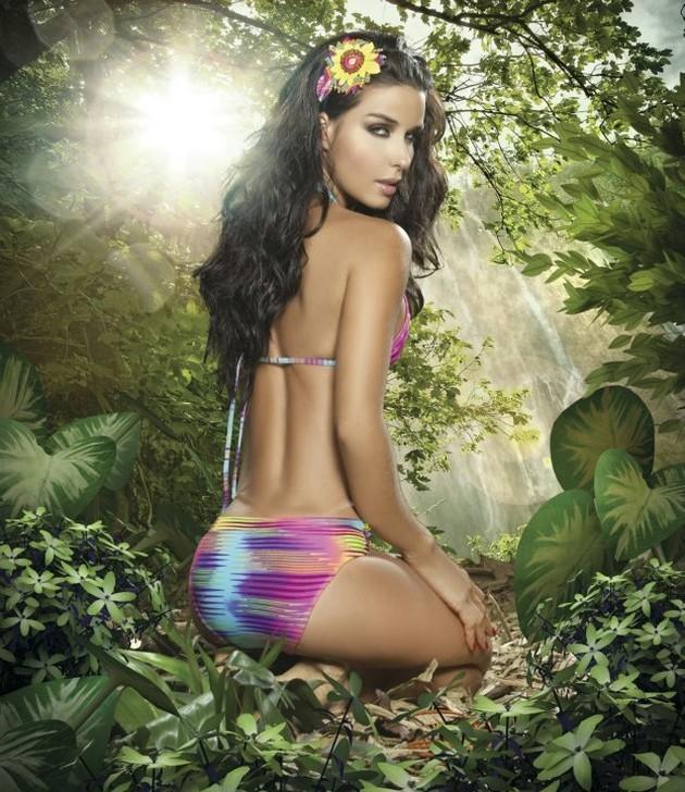 Tatiana Gil in a bikini - ass