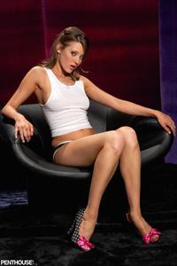 Carli Banks in lingerie