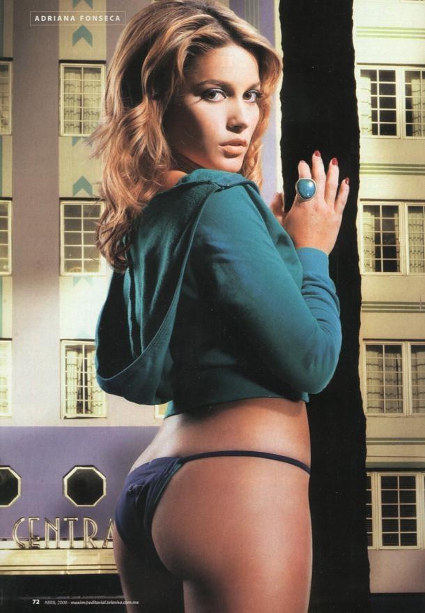 Adriana Fonseca in lingerie - ass