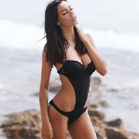 Denise Schaefer in a bikini
