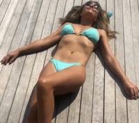 Elizabeth Hurley in a bikini