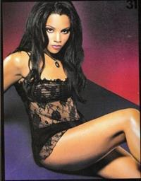 Bianca Lawson in lingerie