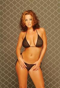 Shannon Stewart in a bikini