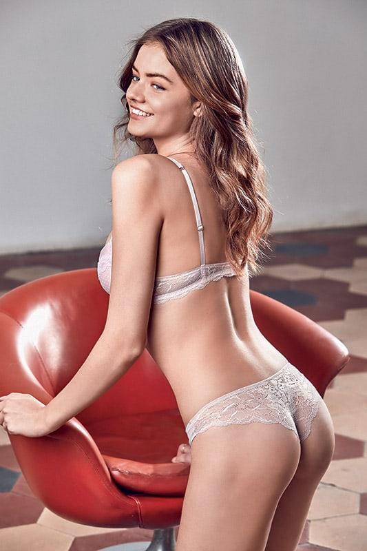 Sima Jakuleviciute in lingerie - ass
