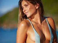 Anastasia Ashley in a bikini