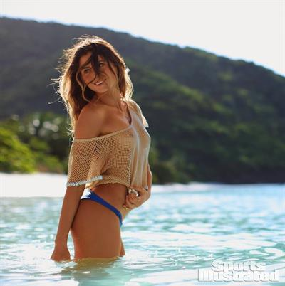 Anastasia Ashley in a bikini