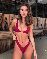 Brit Manuela in a bikini