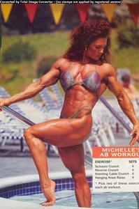 Michelle Andrea in a bikini