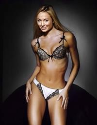 Stacy Keibler in lingerie