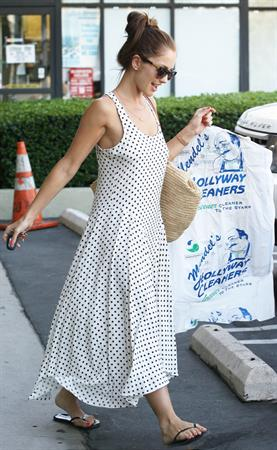Minka Kelly - Running errands in LA - August 29, 2012