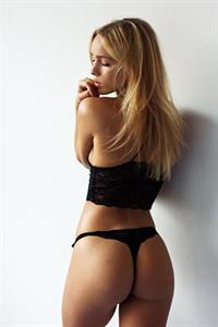 Anni Haase in lingerie - ass