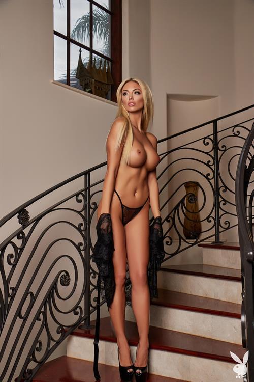Blonde Bimbo Bethany Giura Posing Topless For Playboy Sweden Egotastic 1