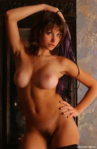 Katia Galitsin - pussy and nipples