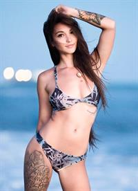 Kristina Chai in a bikini