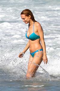 Heather Graham in a bikini