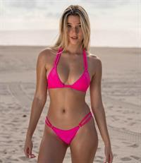 Kayla Jones in a bikini